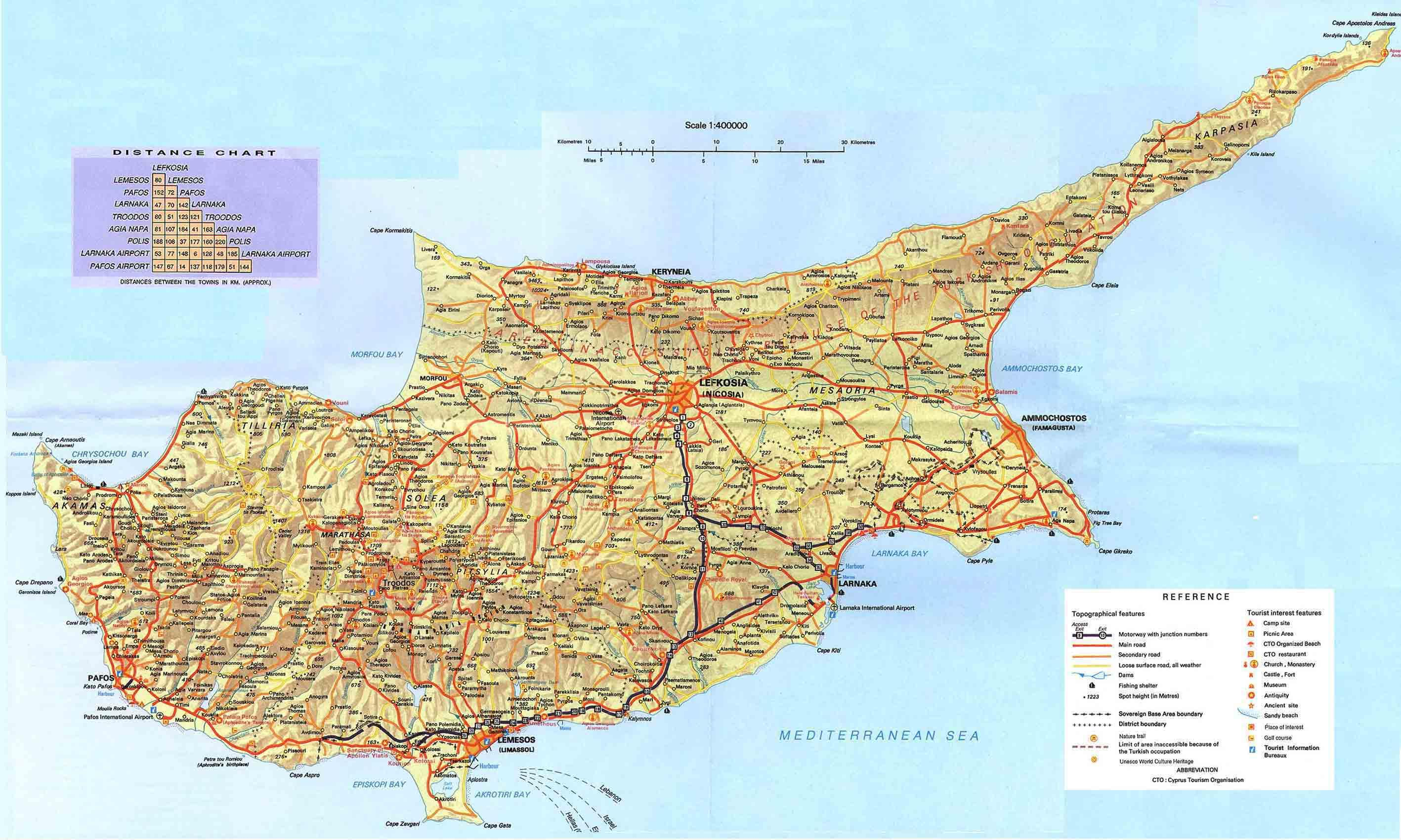 Picture of: Map Of Cyprus Cyprus Country In World Map Southern Europe Europe