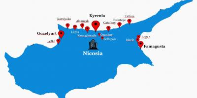 North Cyprus road map
